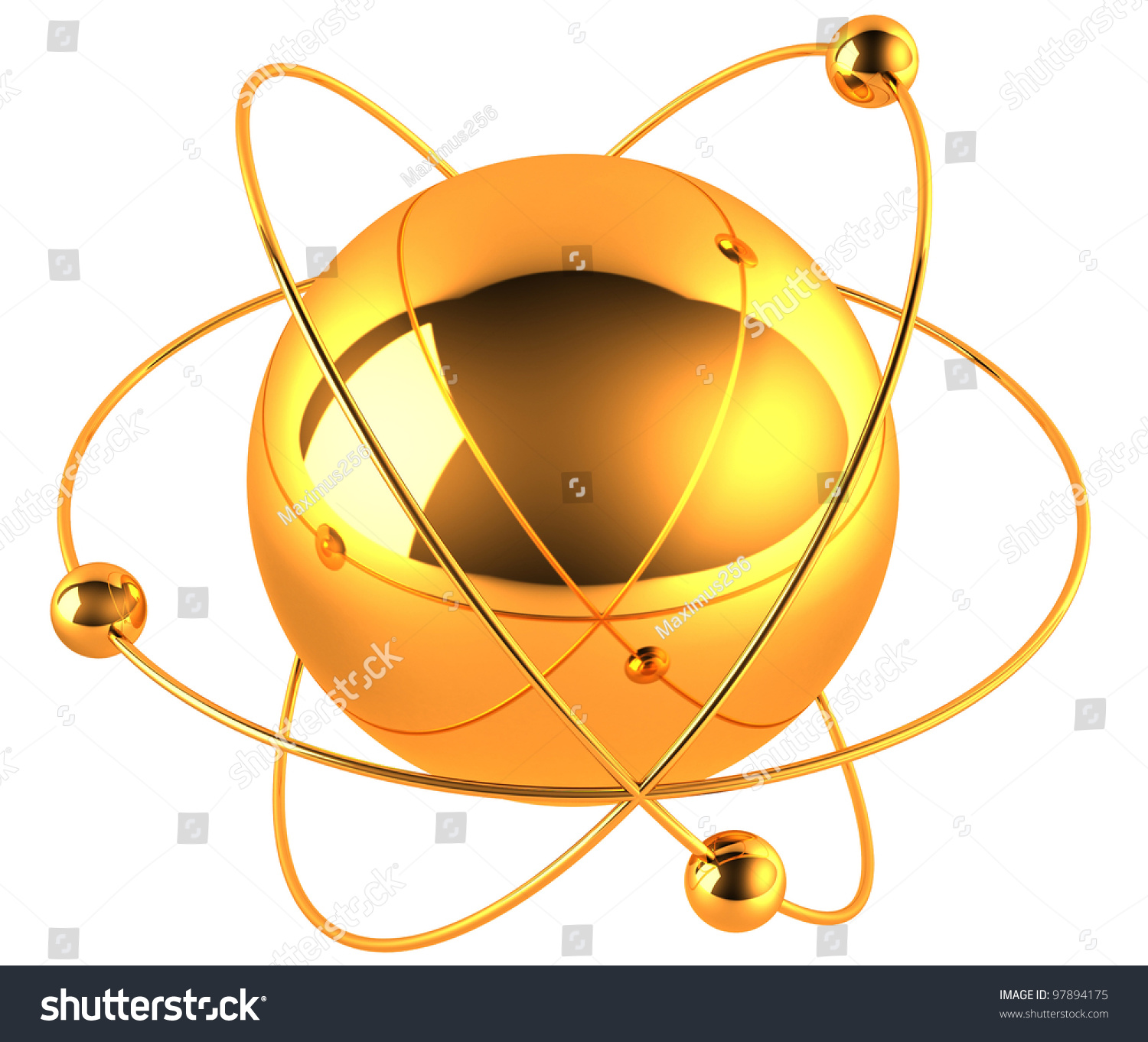 nucleus diagram of gold nucleaus diagram of gold's gold atom stock illustration 97894175 shutterstock
