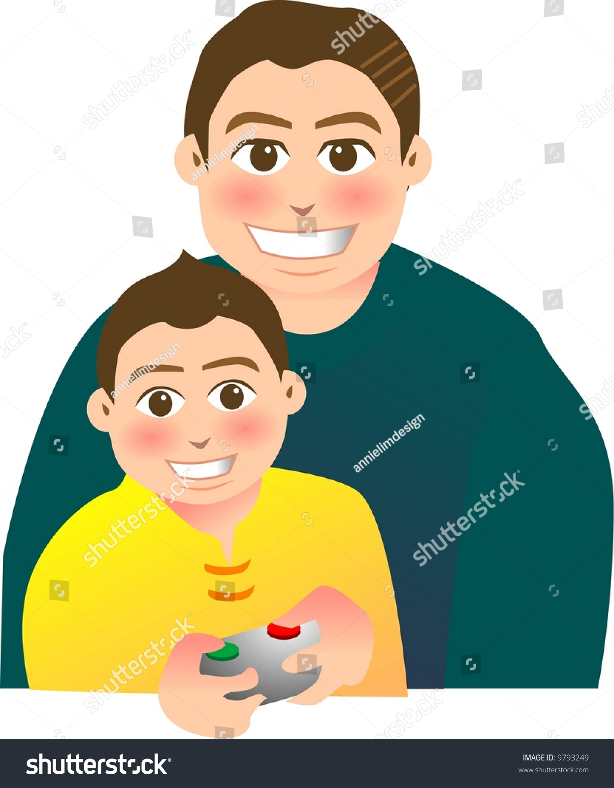 father and son relationship video game