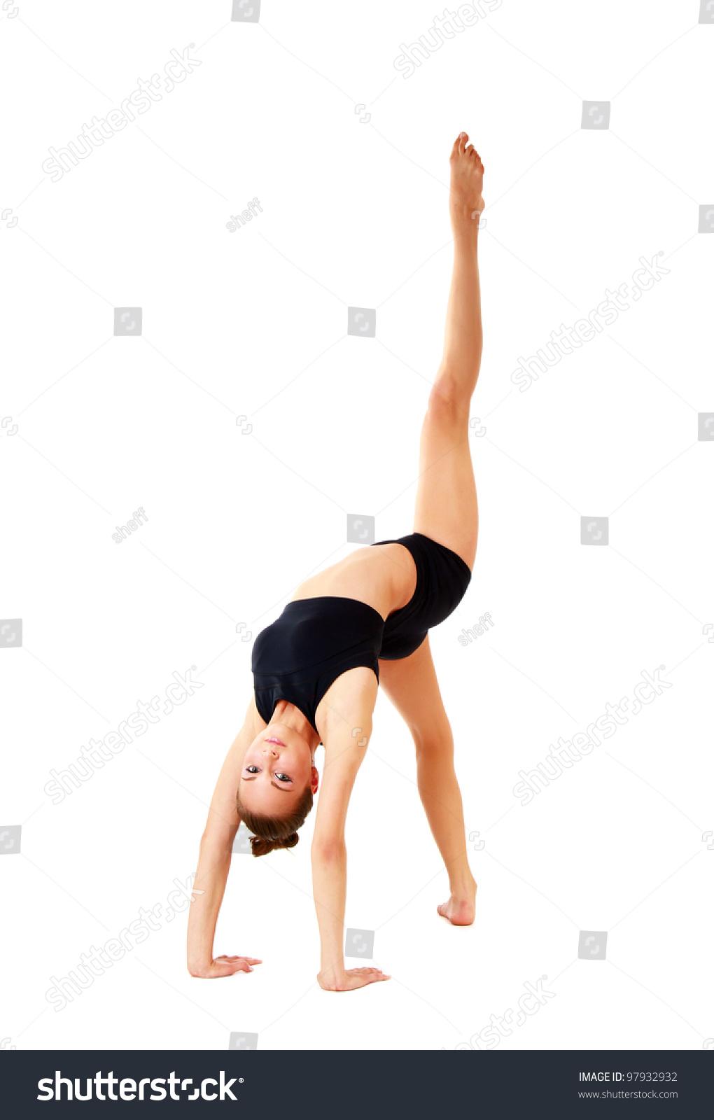 Flexible Gymnastic Pose 94