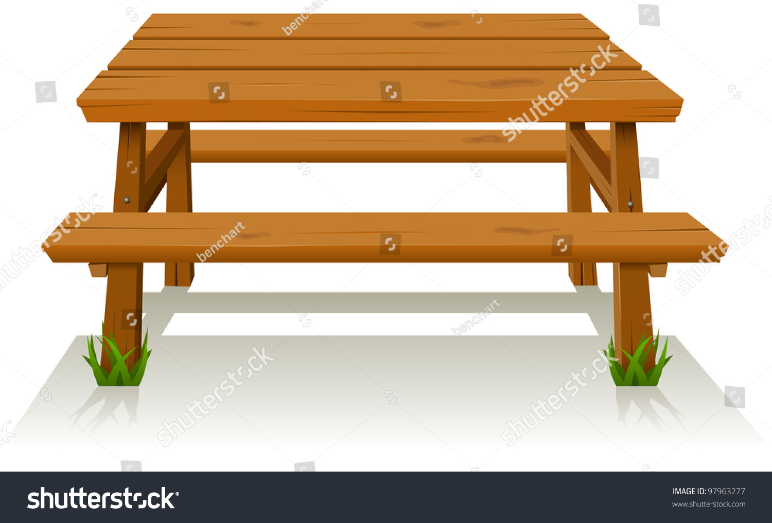 photo-picnic-wood-table-illustration-of-a-cartoon-wooden-picnic-table ...