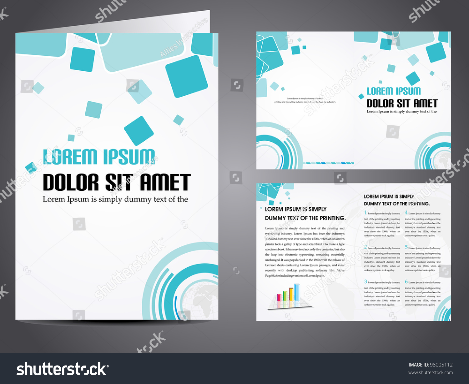 Royalty-free Professional business catalog template… #98005112 Stock ...