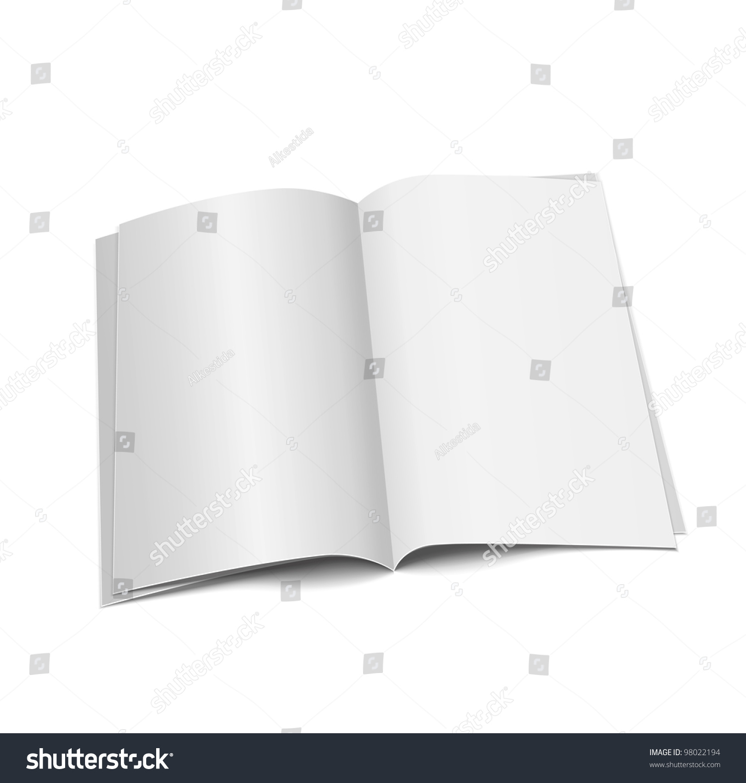 Bank White Paper On White Background Ez Canvas