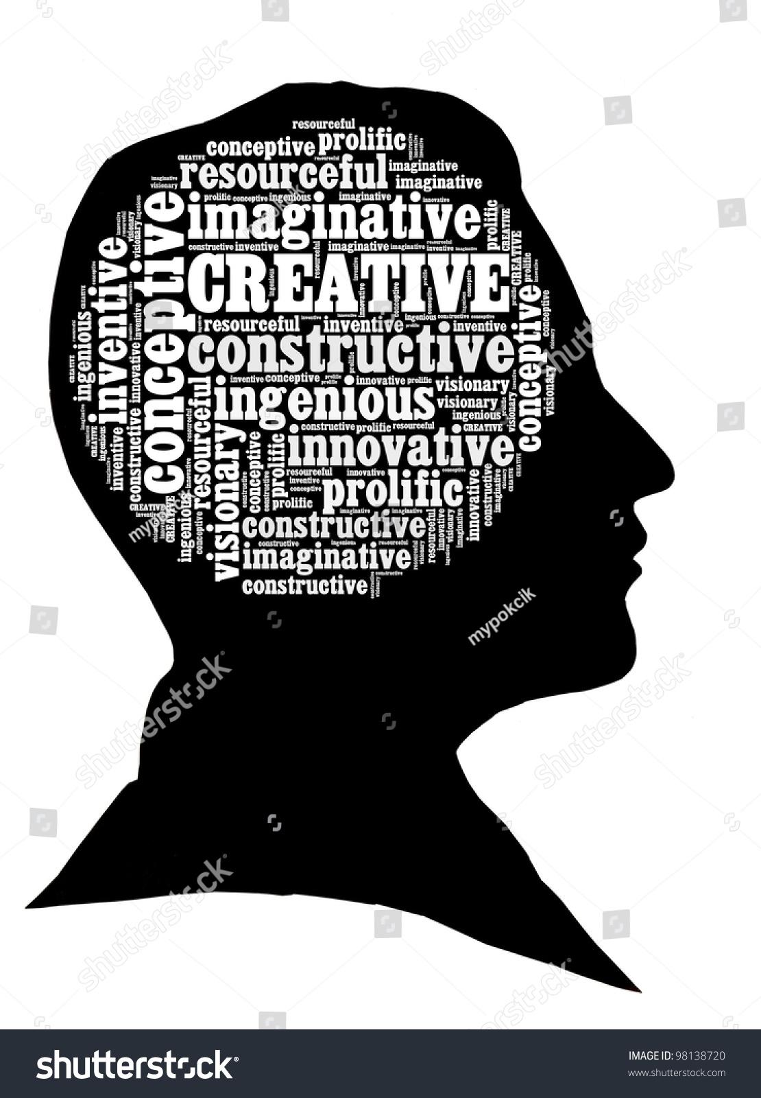 creative mind concept stock illustration 98138720