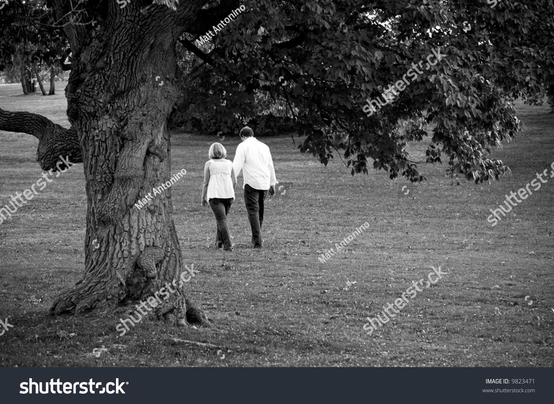couple walking park stock photo 9823471 shutterstock