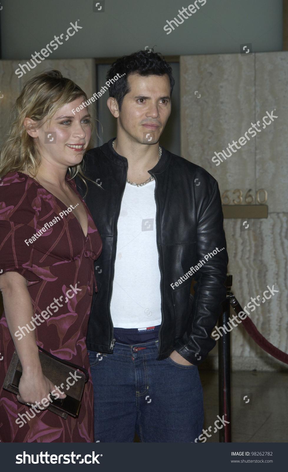 Actor JOHN LEGUIZAMO Girlfriend JUSTINE MAURER Stock Photo (Edit Now ...
