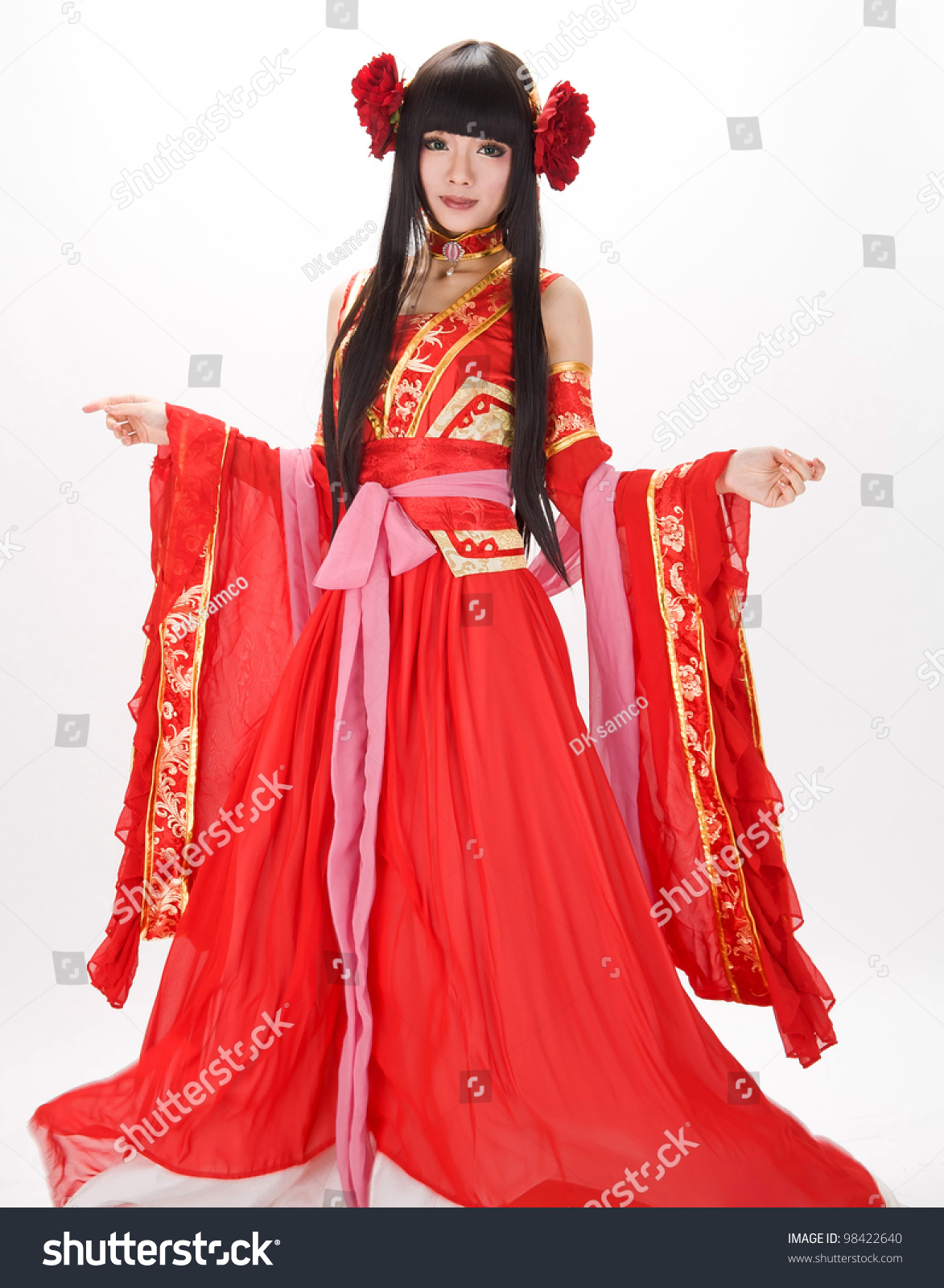 Chinese Girl Dress