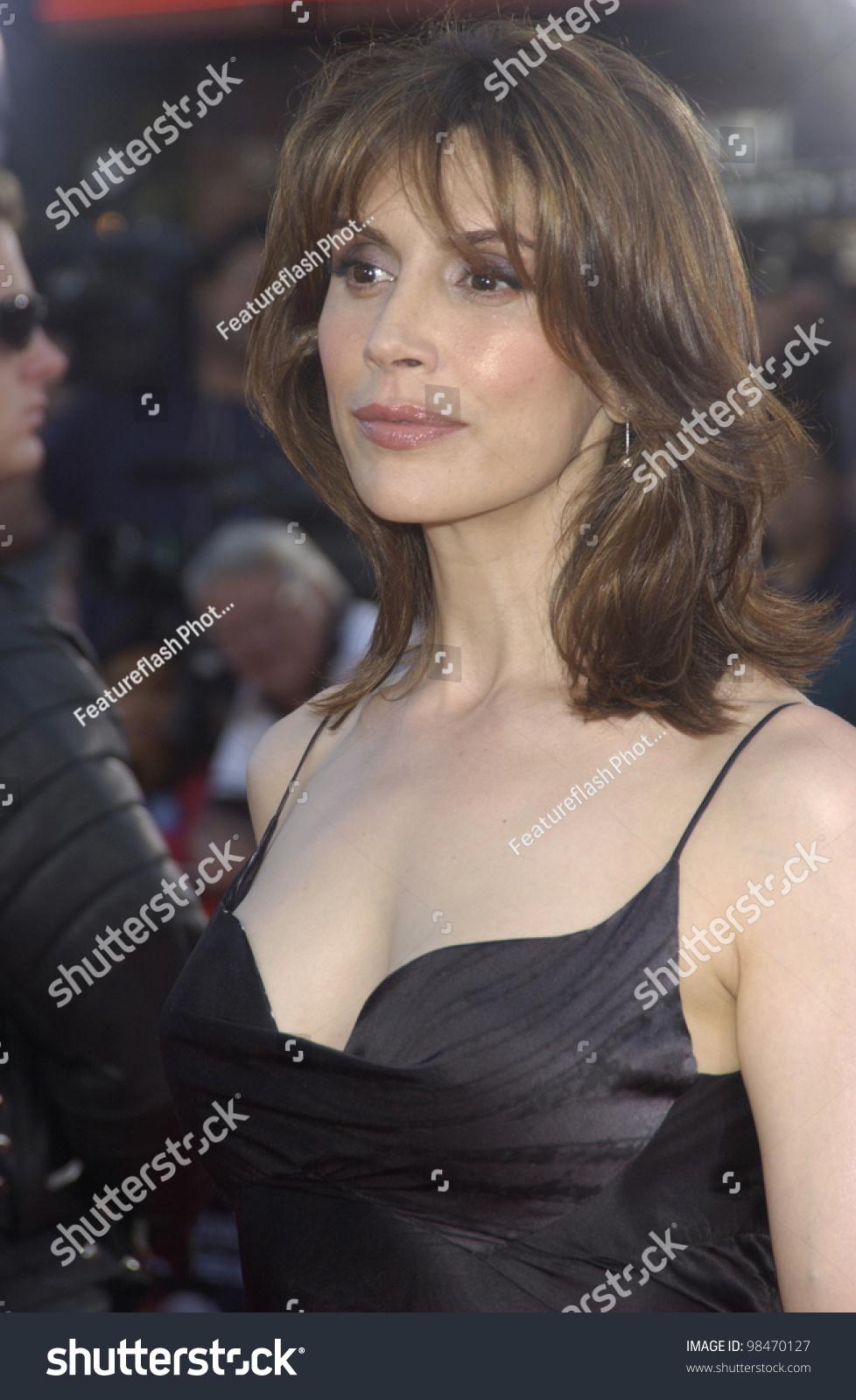 actress jo champa world premiere terminator stock photo (royalty
