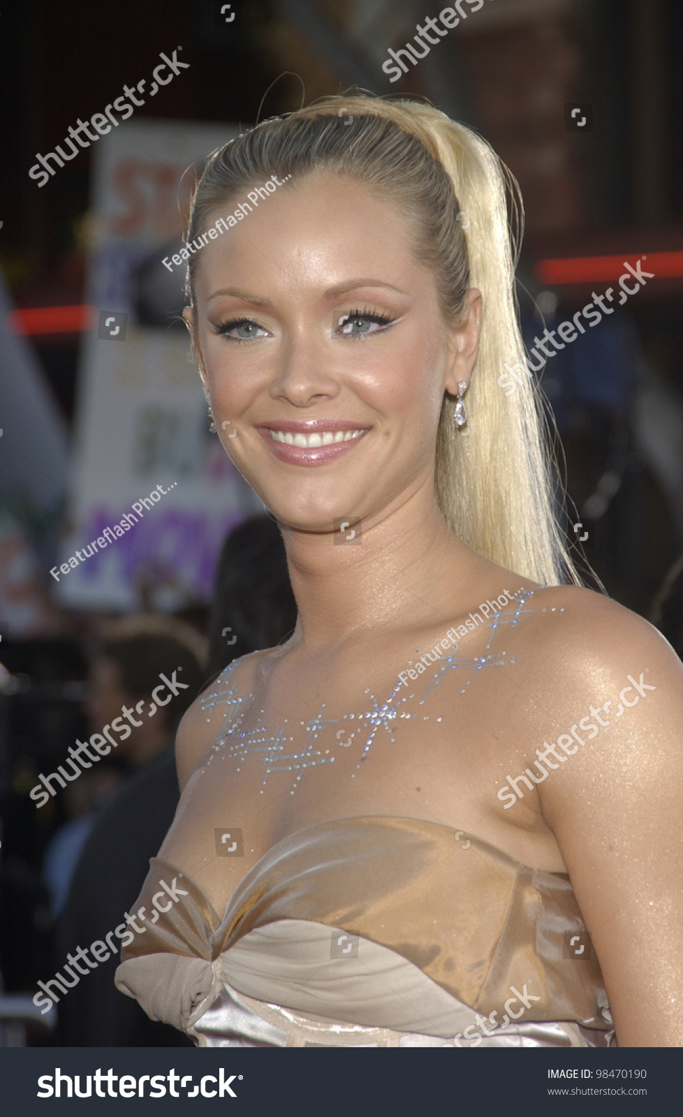 actress kristanna loken world premiere her stock photo & image