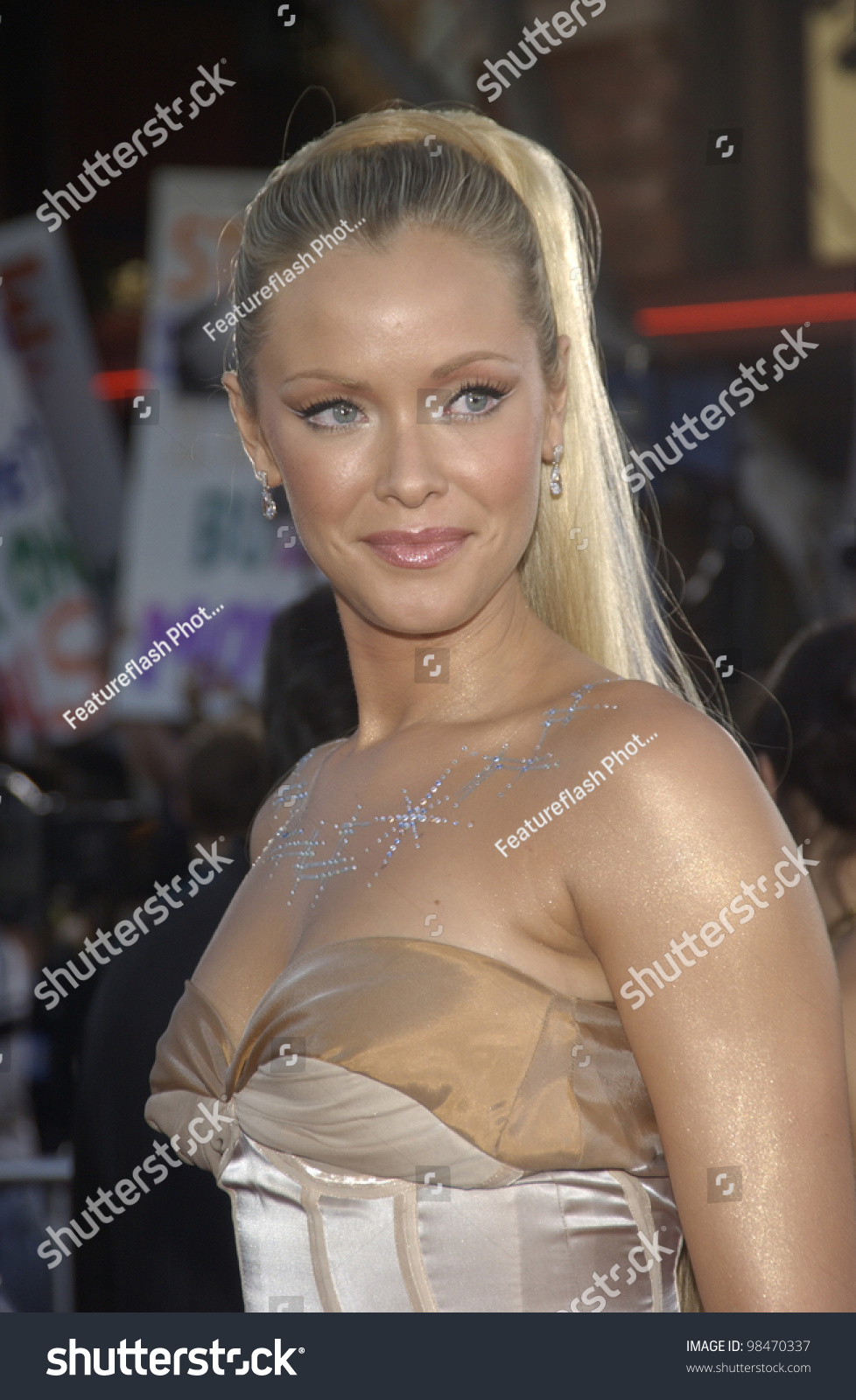 actress kristanna loken world premiere her stock photo (100% legal