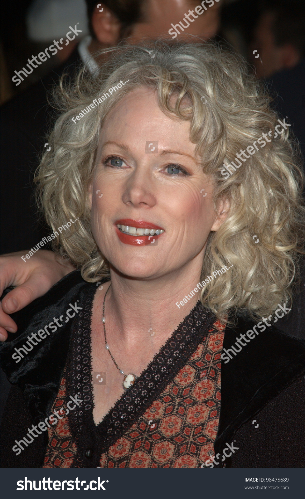 Actress Julia Duffy World Premiere Her Stock Photo