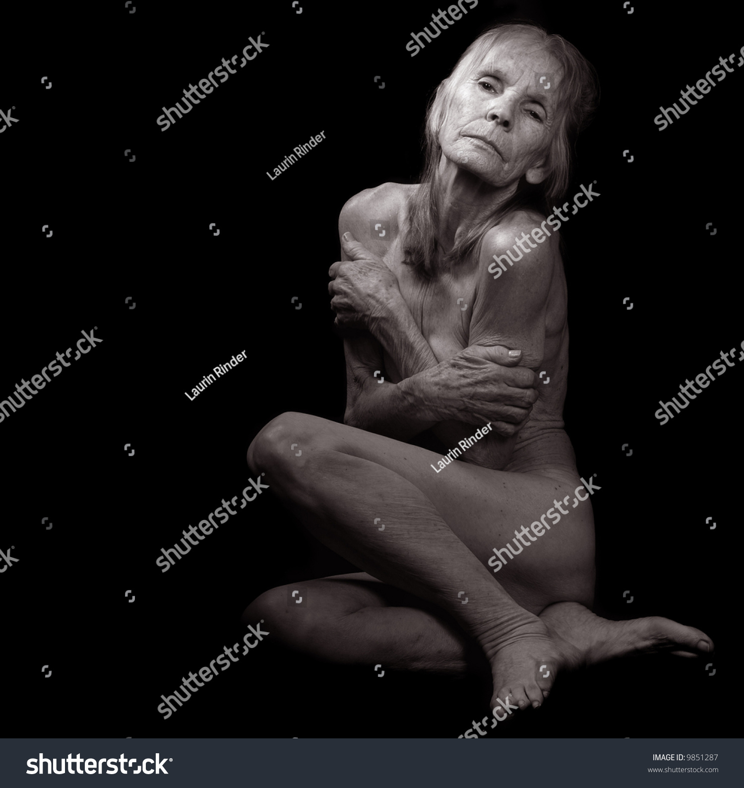 Black Nude Older Picture Woman 13