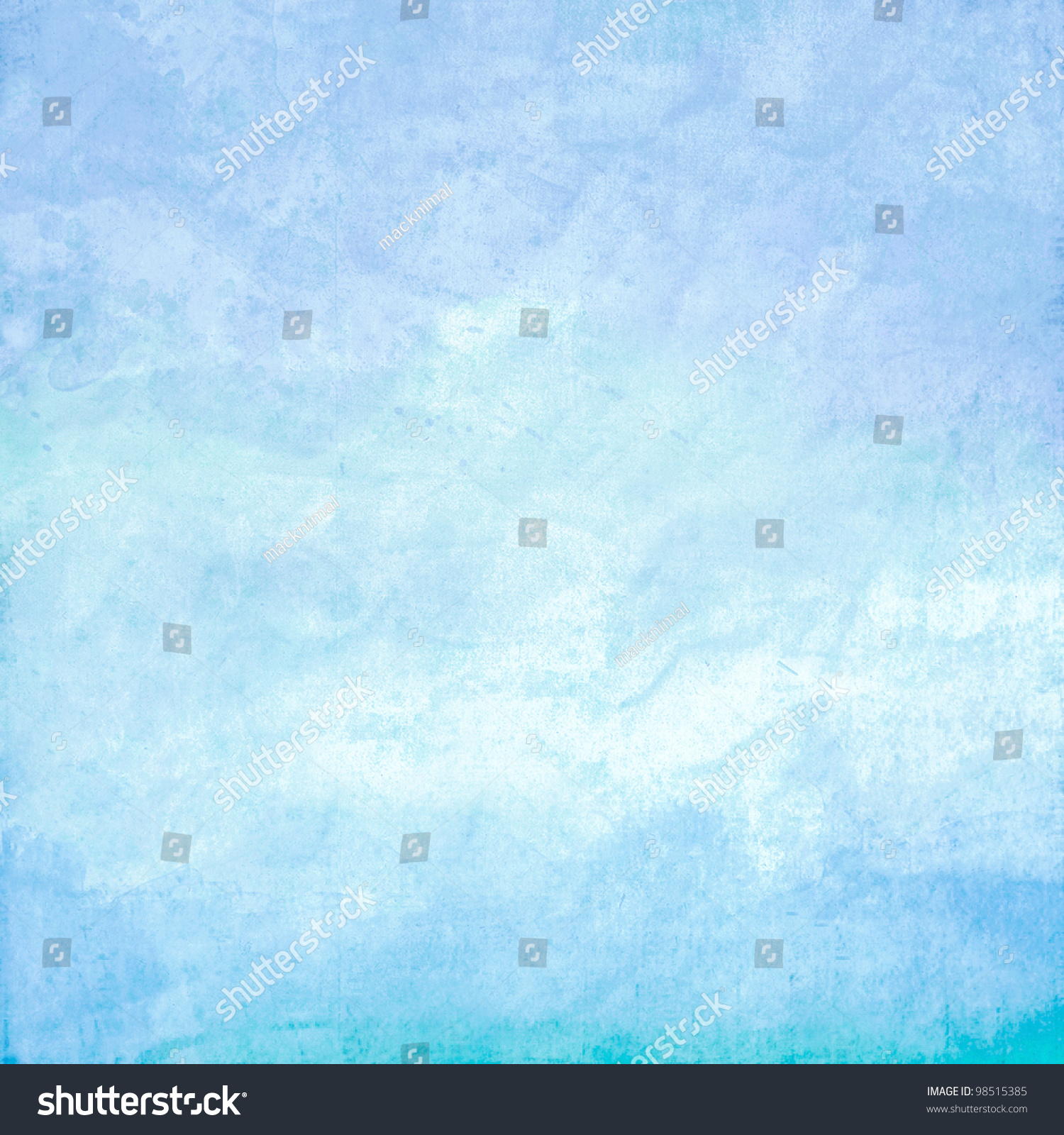 Abstract Blue Ocean Background Stock Photo 98515385