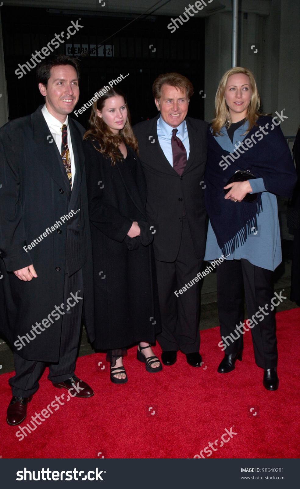 Actor Martin Sheen Daughter Renee Estevez Stock Photo 98640281 ...