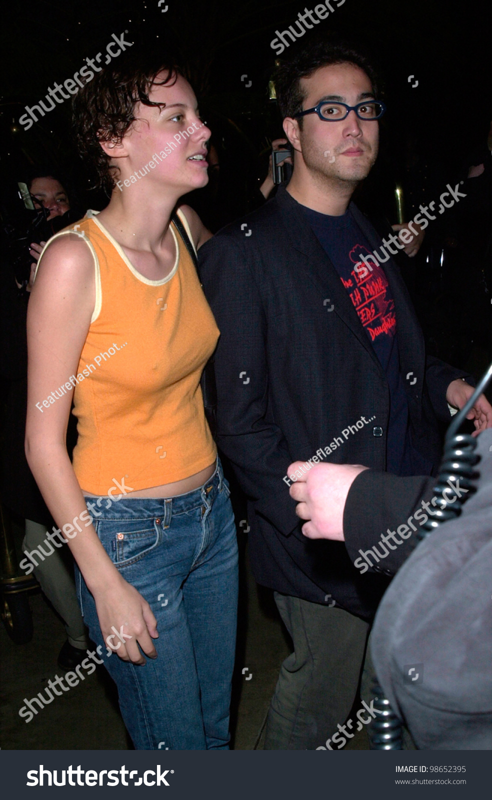SEAN LENNON Son Of The Late John Lennon With Actress BIJOU PHILLIPS At