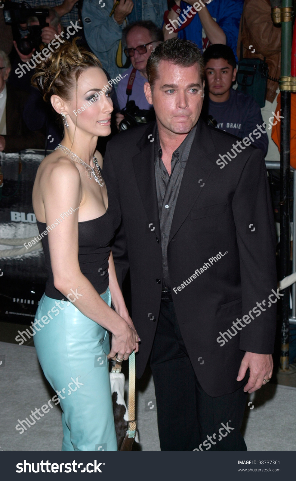 Actor Ray Liotta Wife Hollywood Premiere Stock Photo ...