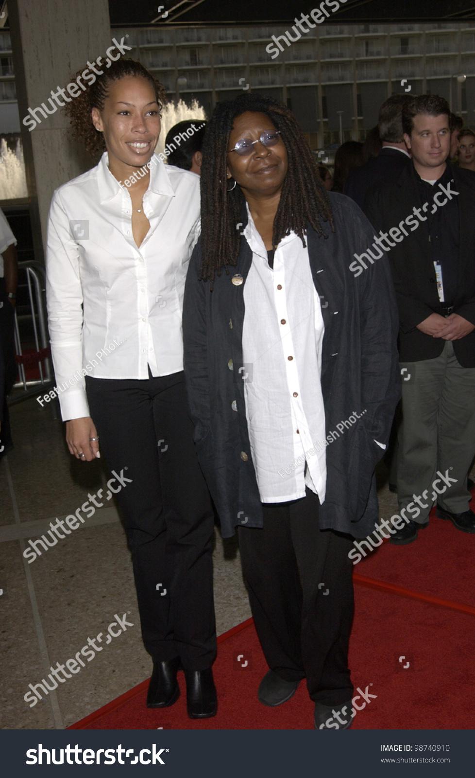 Actress Whoopi Goldberg Daughter Alex World Stock Photo Edit Now 98740910