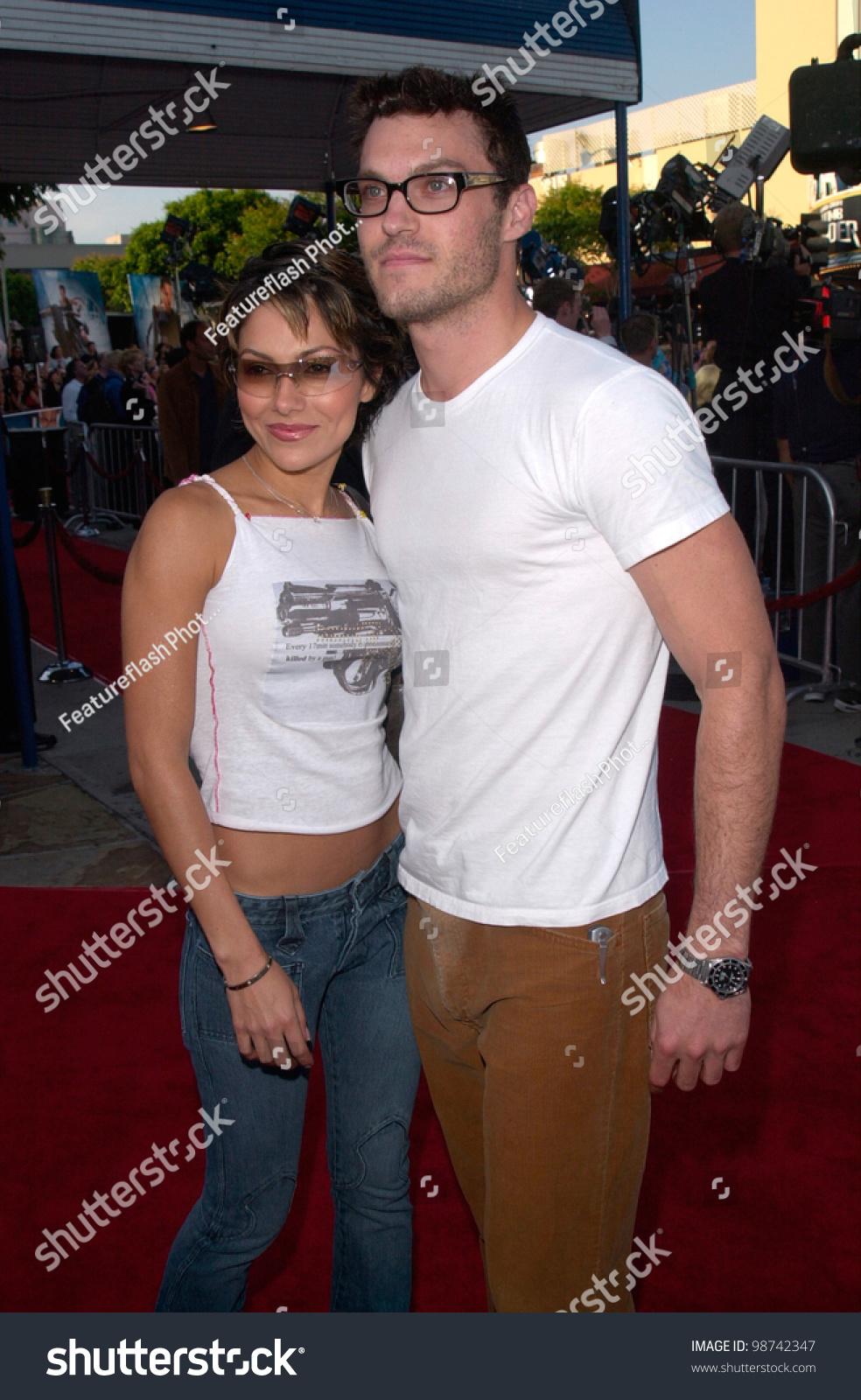 Brian Austin Green Girlfriends Best actor brian austin green girlfriend vanessa stock photo 98742347