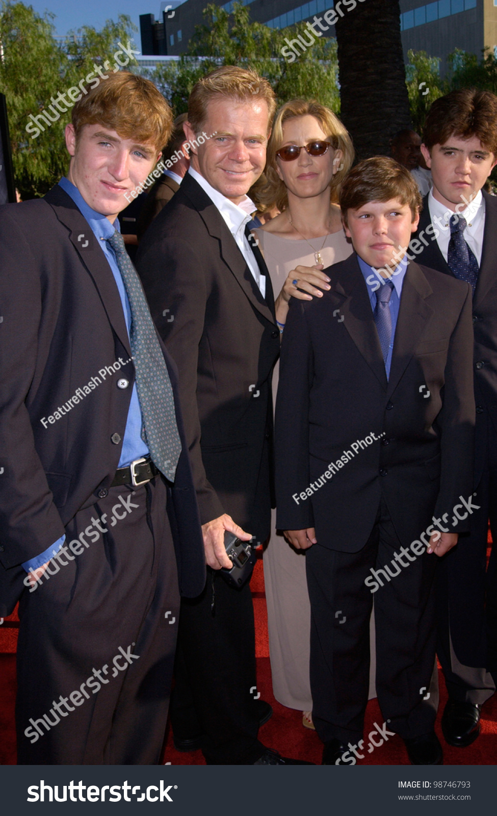 Actor william h macy actress wife stock photo 98746793 for H s bains sons