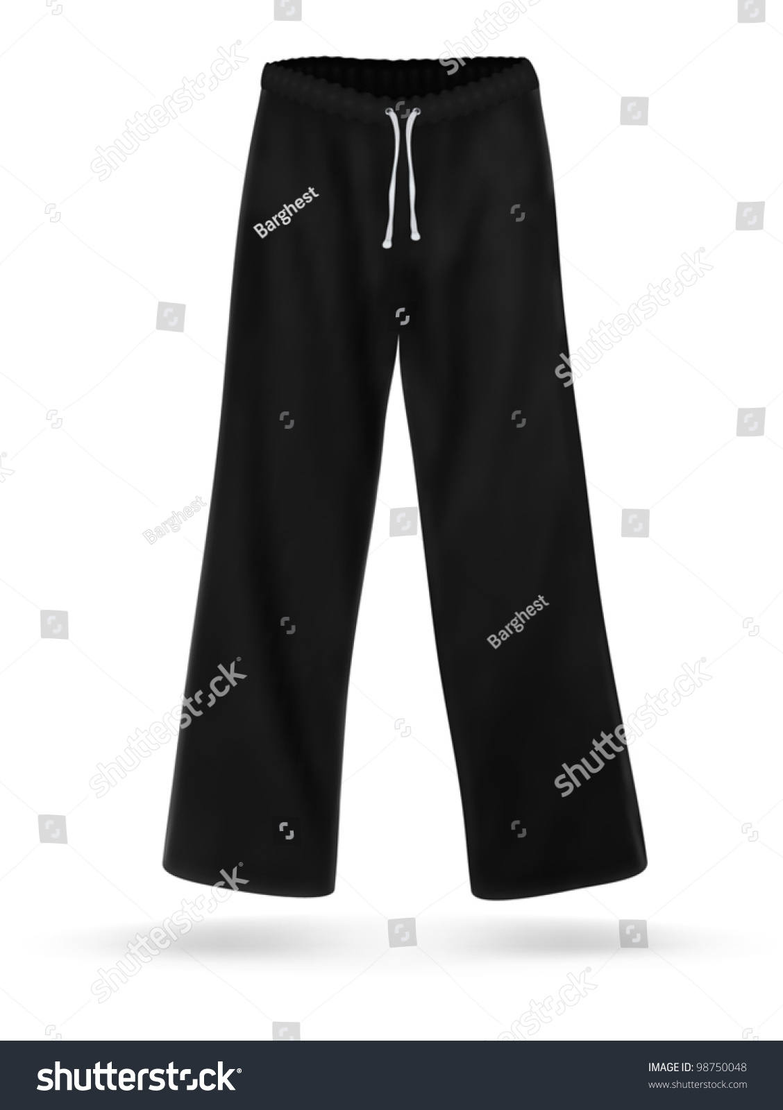 black sweatpants blank - photo #22