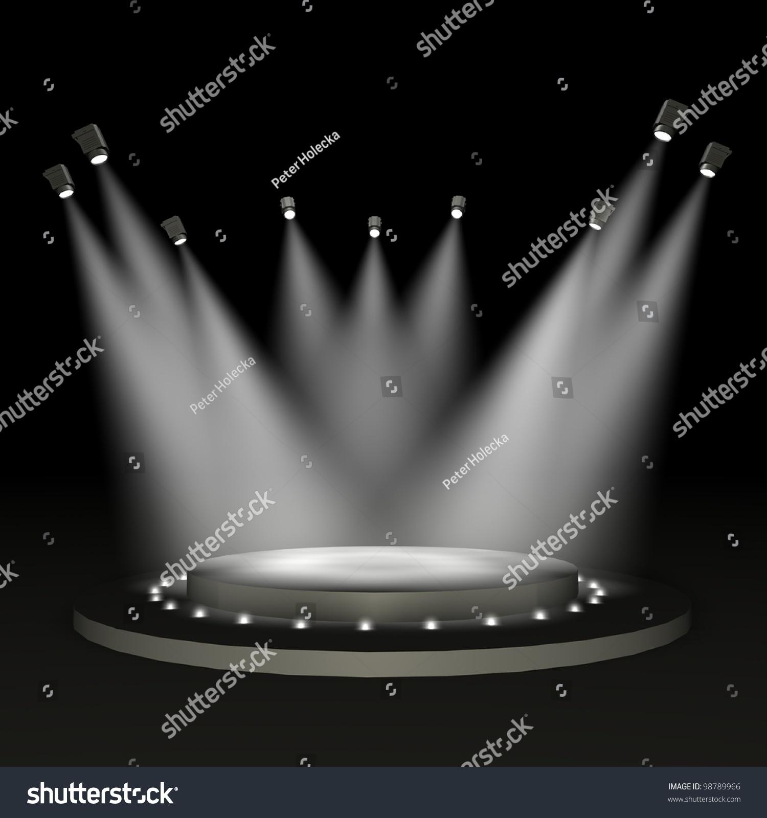 Stadium Of Lights: Stadium Lights Stock Photo 98789966 : Shutterstock