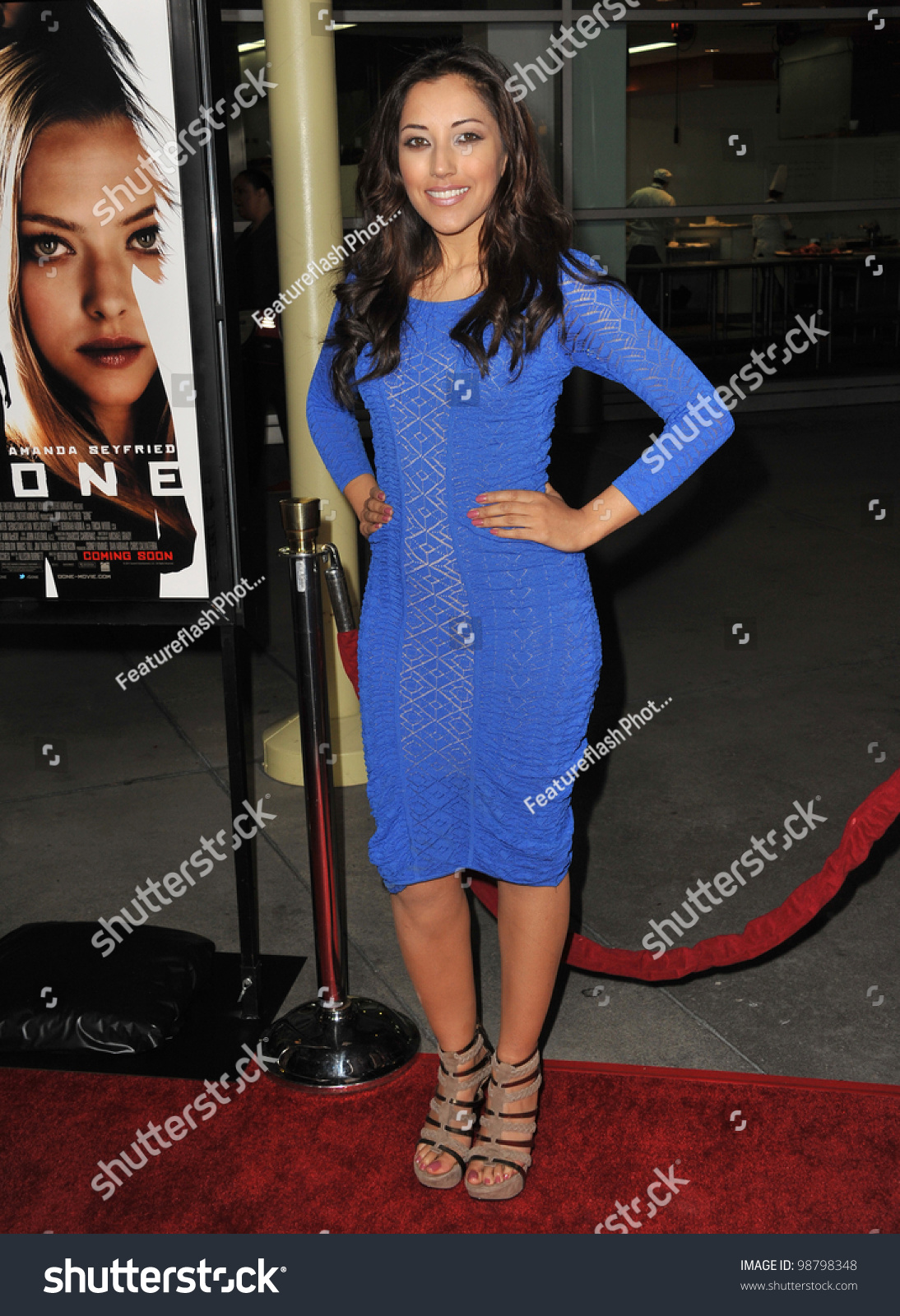 """Hazel D'Jan at the Los Angeles premiere of """"Gone"""" at the Arclight"""