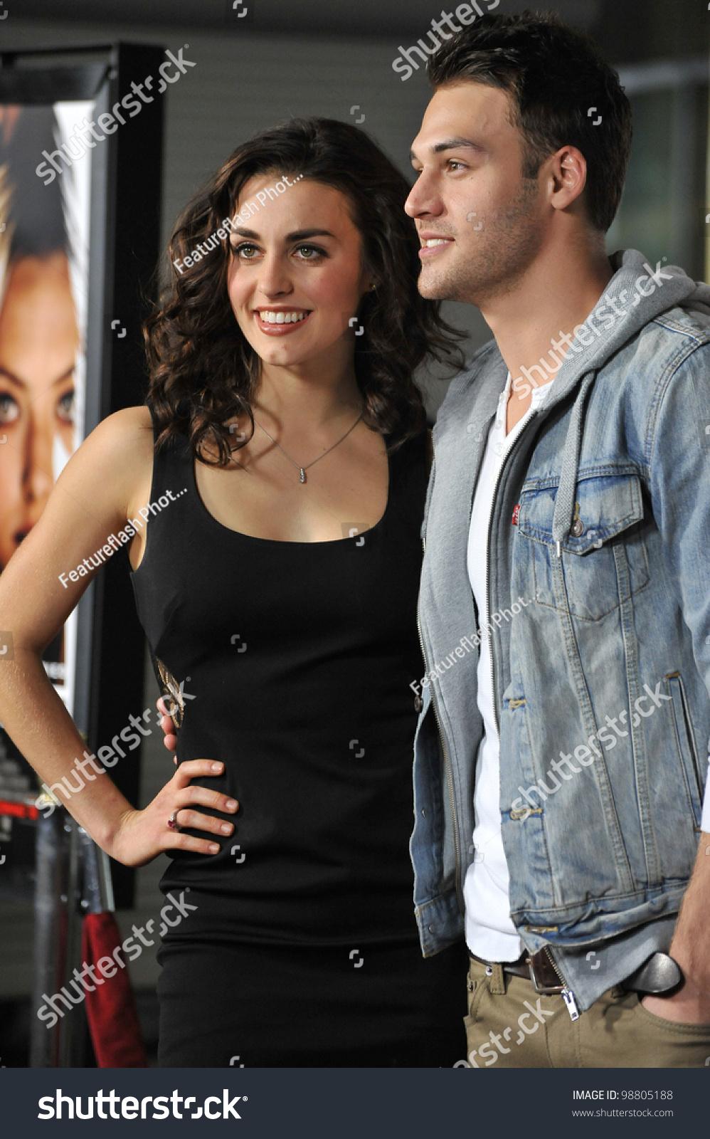 Kathryn Mccormick & Ryan Guzman At The Los Angeles ... Ryan Guzman And Kathryn Mccormick Relationship