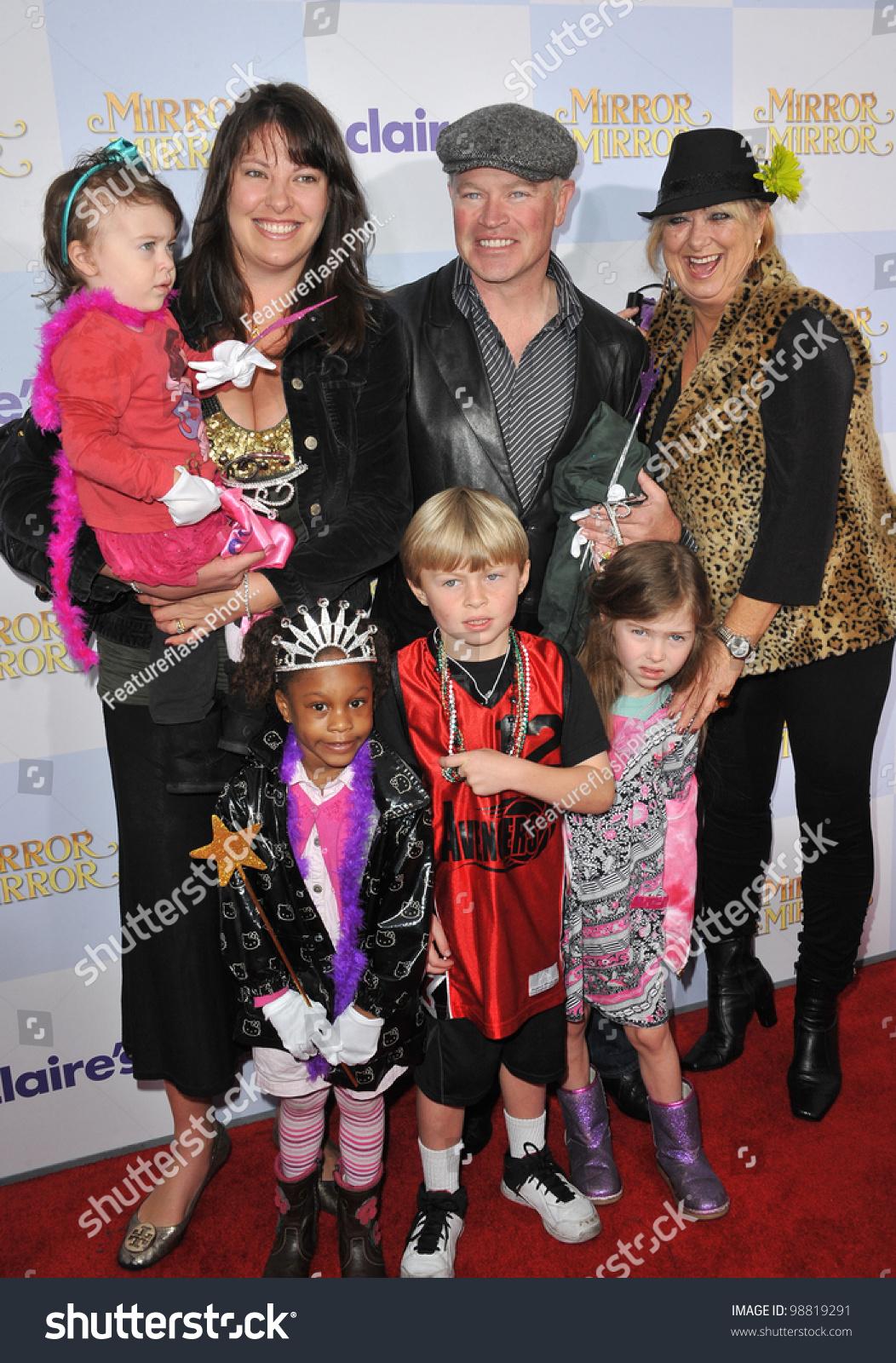 Neal Mcdonough Family neal mcdonough & family at the world premiere of ...