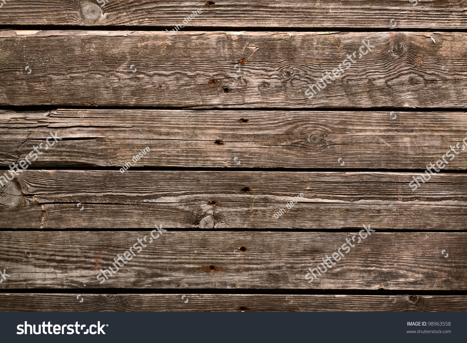 Old wooden background table floor stock photo