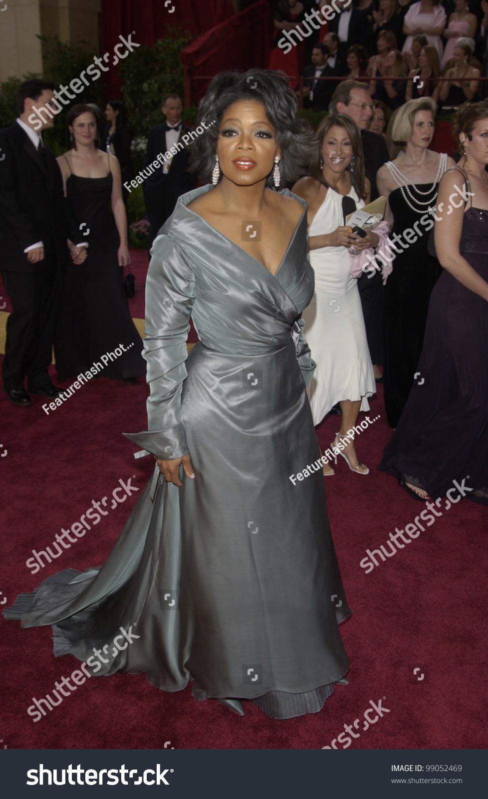 Oprah's Gray Gown