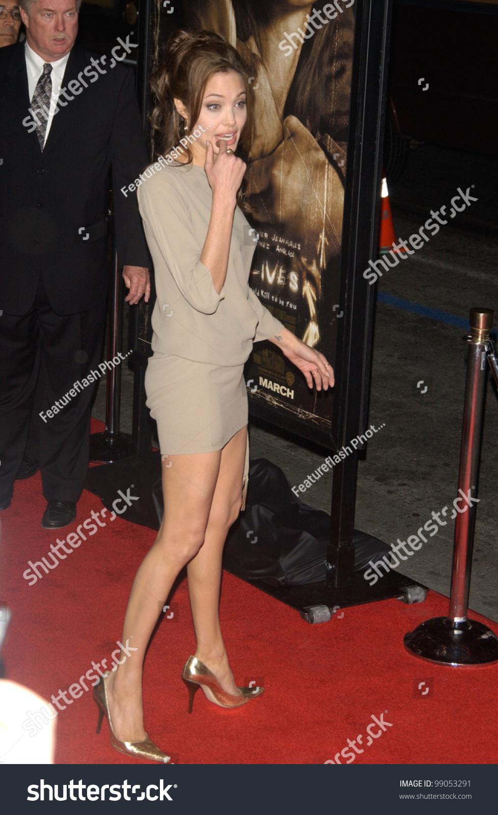 Actress Angelina Jolie World Premiere Hollywood Stock Photo Edit
