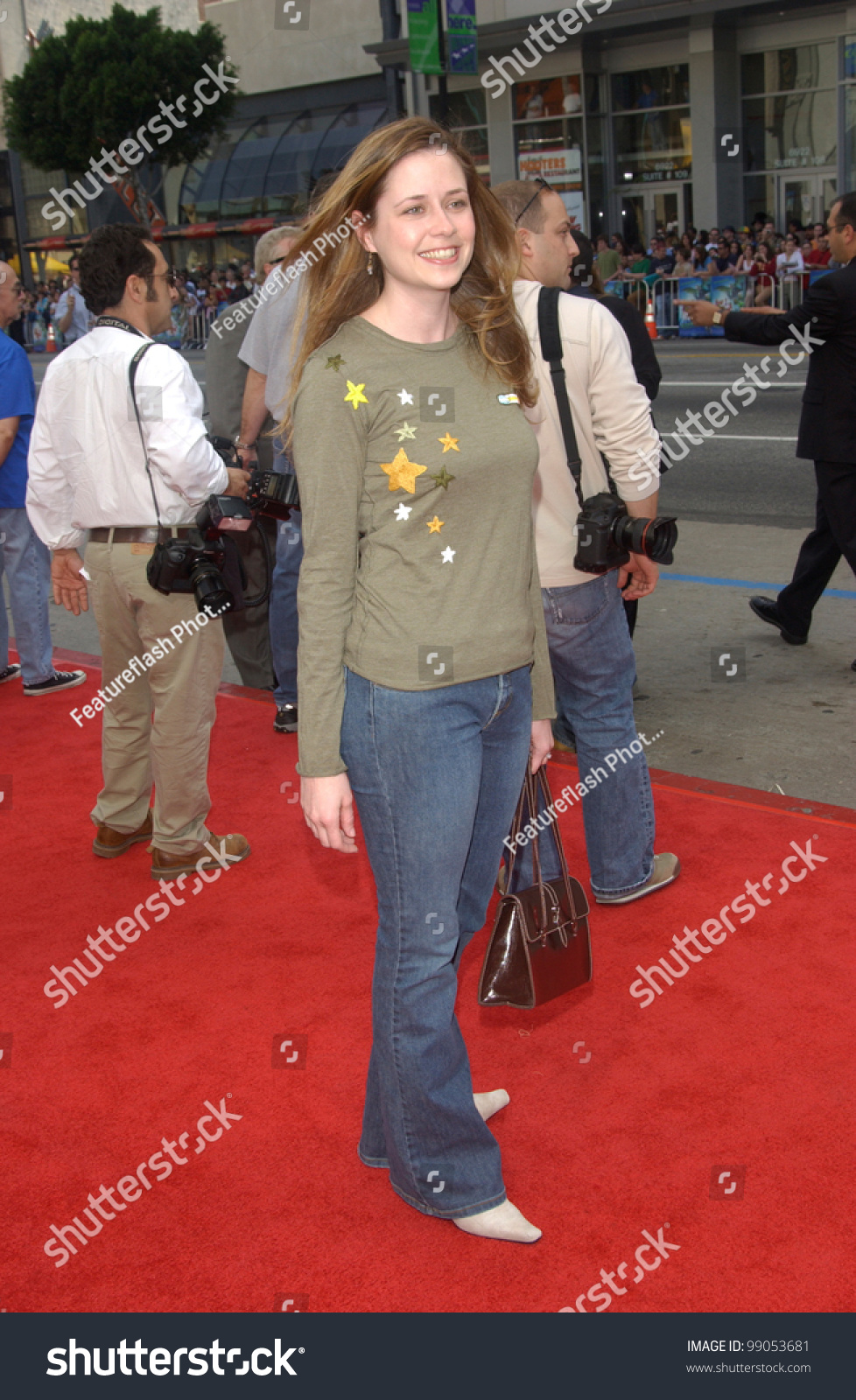 Actress jenna fischer star of the upcoming american version of the office at the world - The office american version ...