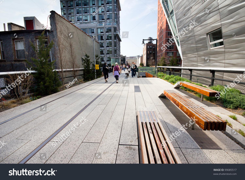 New york city mar 23 high stock photo 99085517 shutterstock for New york city highline
