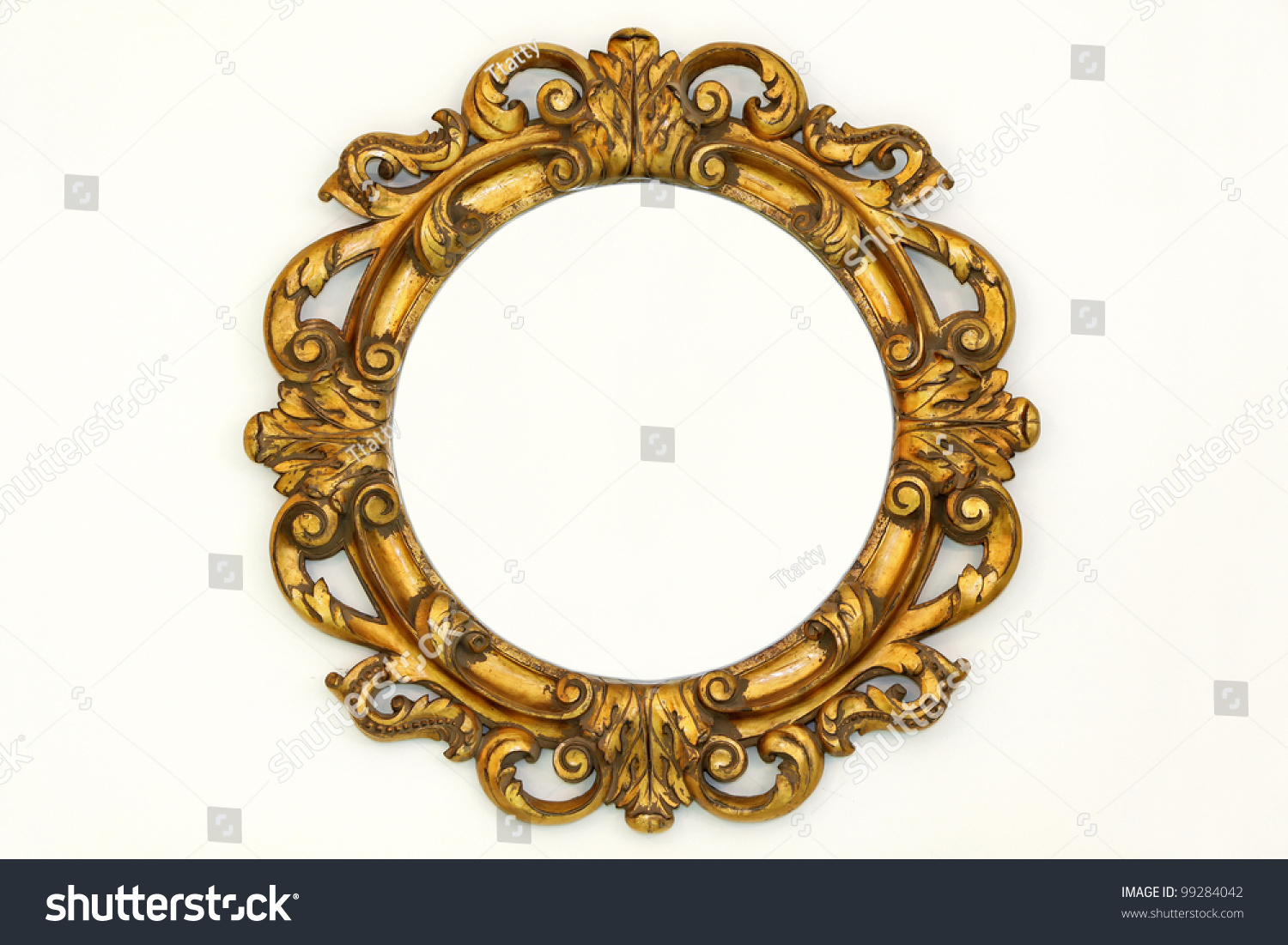 antique oval wall mirror