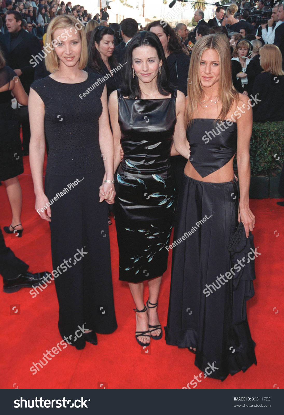 Kudrow lisa courteney cox jennifer aniston friends here casual