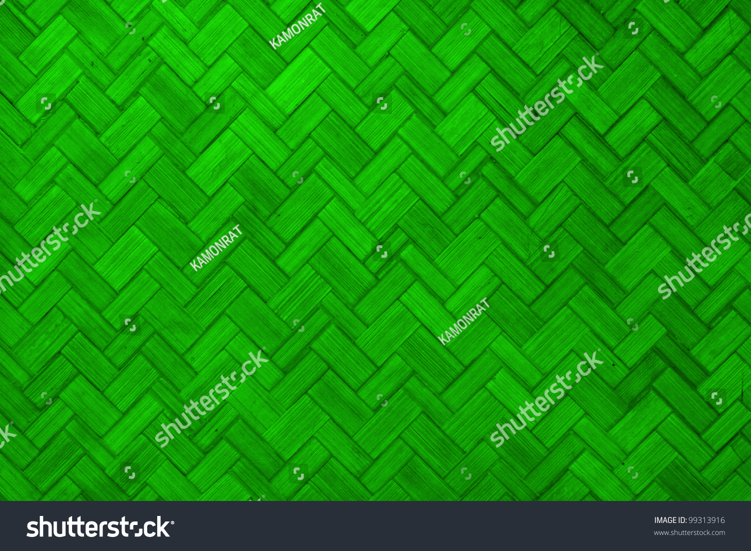 Texture Of Light Green Color Paint Weave Wall For Background