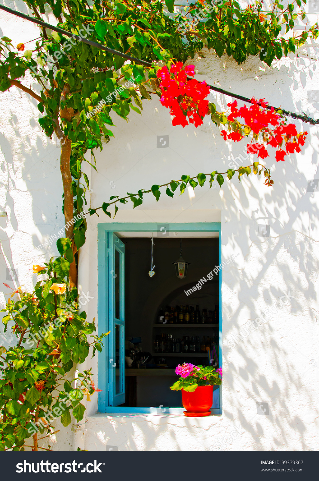 Old beautiful traditional house in chora the capital of amorgos island - Save To A Lightbox