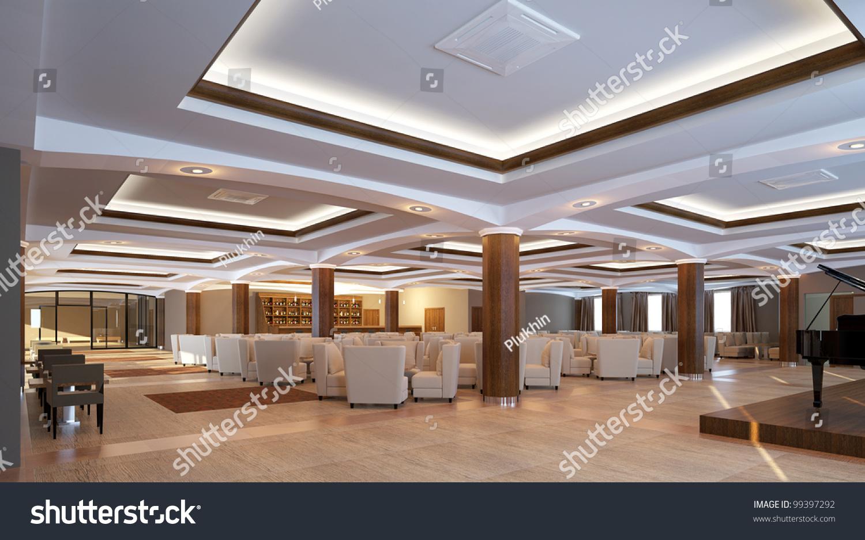 Image Gallery modern lobby