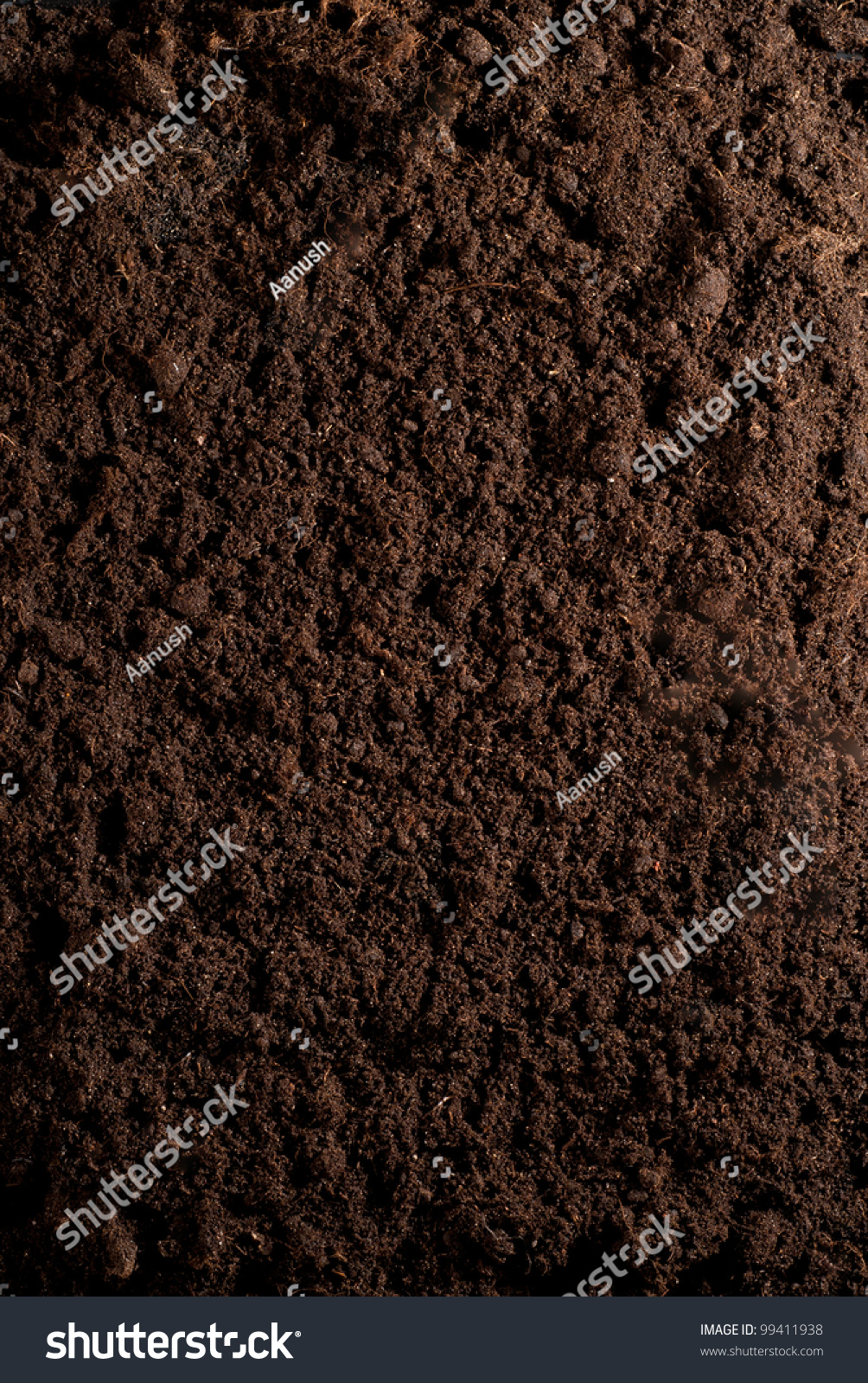 Closeup organic soil can be used stock illustration for Uses of soil in english