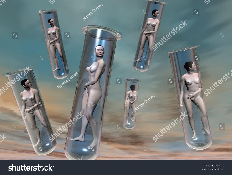 Naked Girl Clones