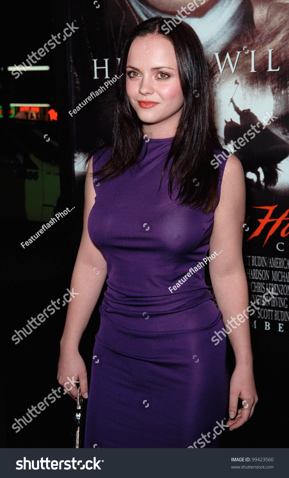 17nov99 actress christina ricci world premiere stock photo