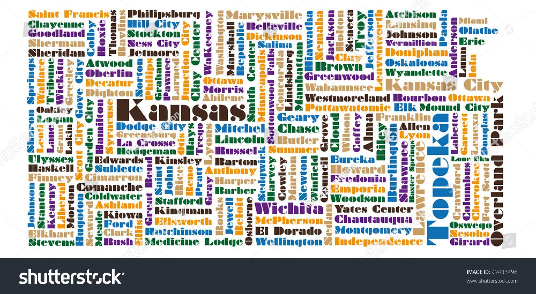 Kansas State Map Map Of Northern Ireland - Kansas state map