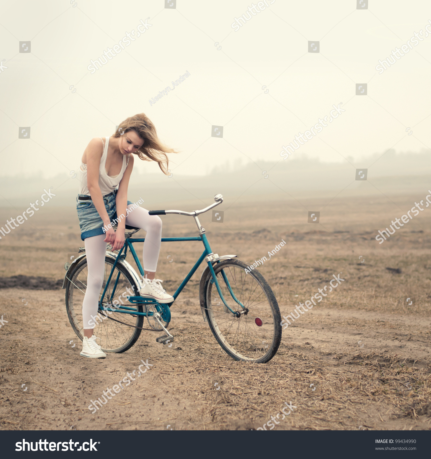 bicycle orgasm Beautiful a girl on