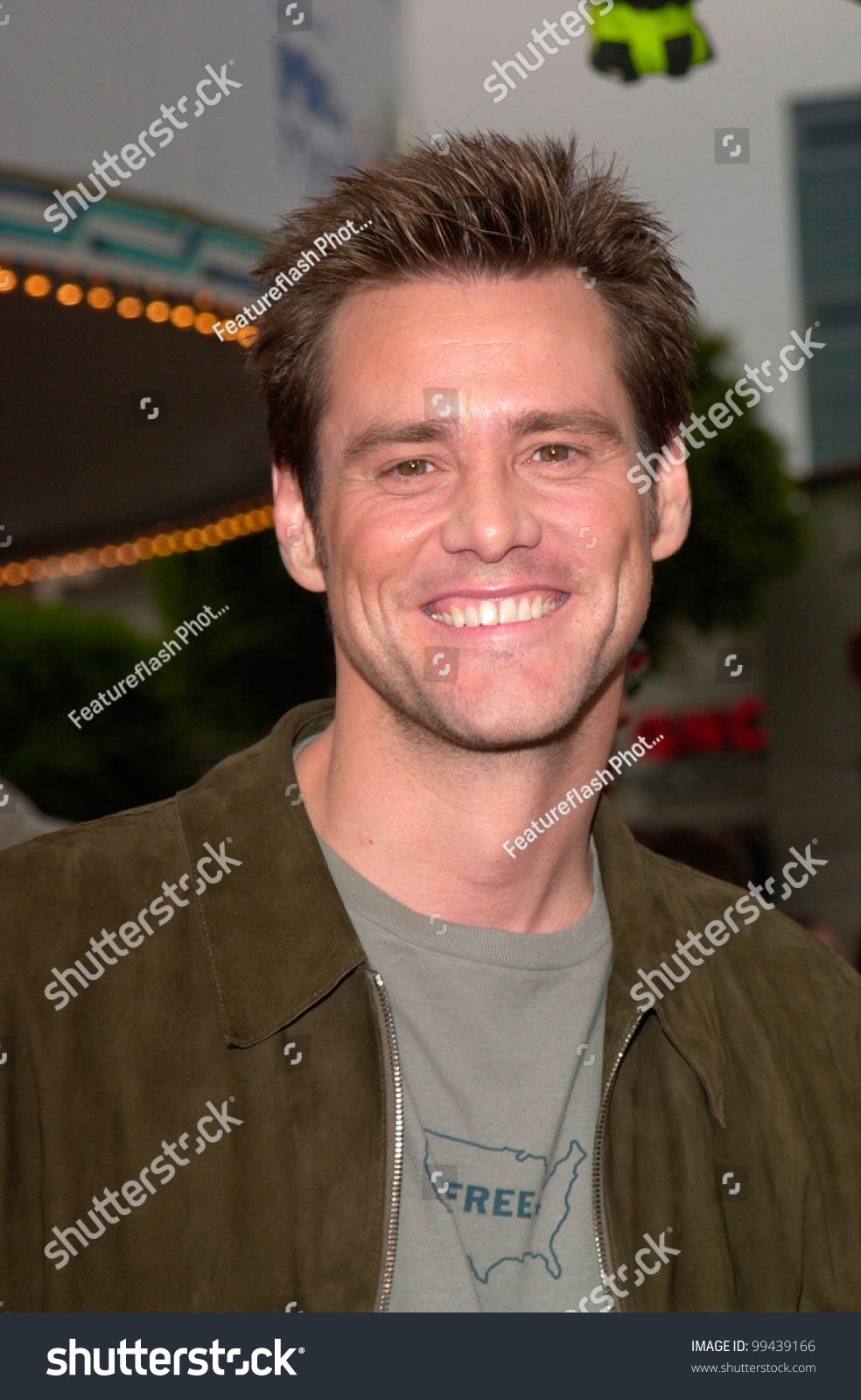 Actor Jim Carrey Los Angeles Premiere Stock Photo Edit Now 99439166