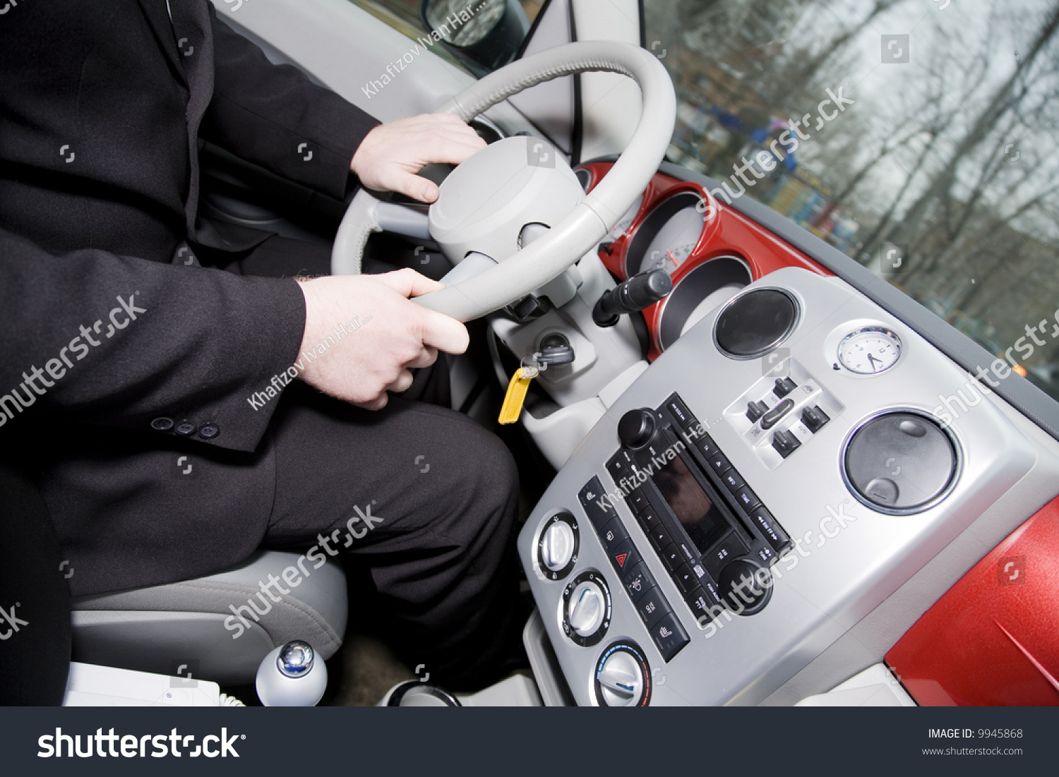 Interior Red Vip Car Stock Photo Edit Now 9945868 Shutterstock