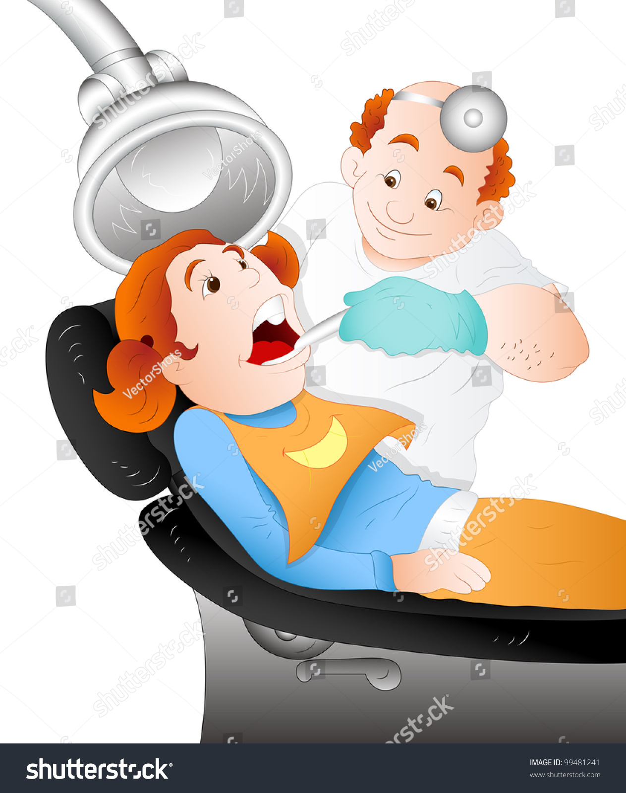 Tooth Extraction Cartoon Stock Vector Royalty Free 99481241