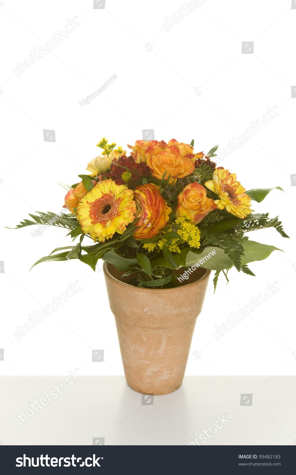 Beautiful Bunch Flowers Stock Photo Royalty Free 99482183