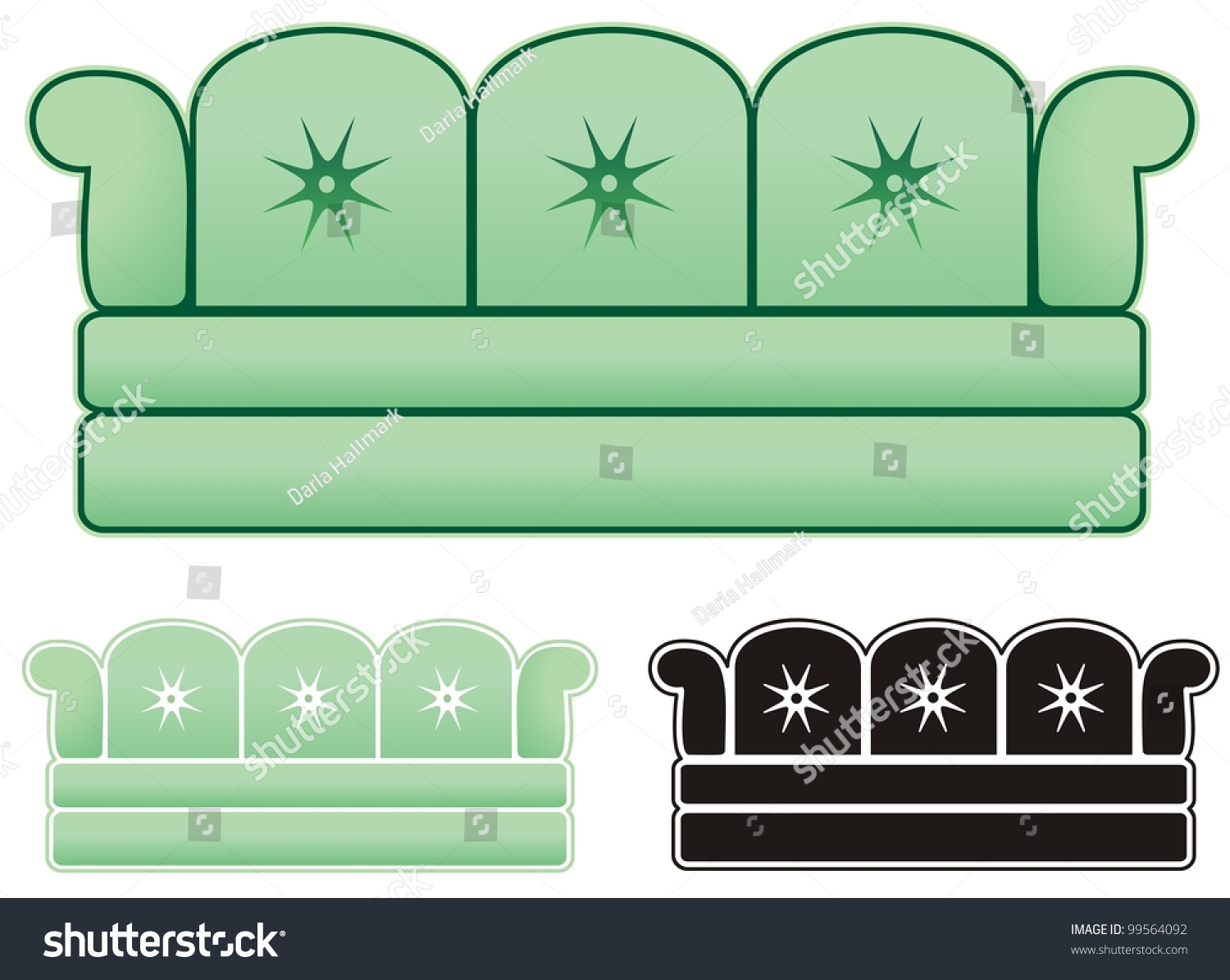 infamous ugly sofa great decorating business stock vector royalty rh shutterstock com Business Card Logo Small Business Clip Art