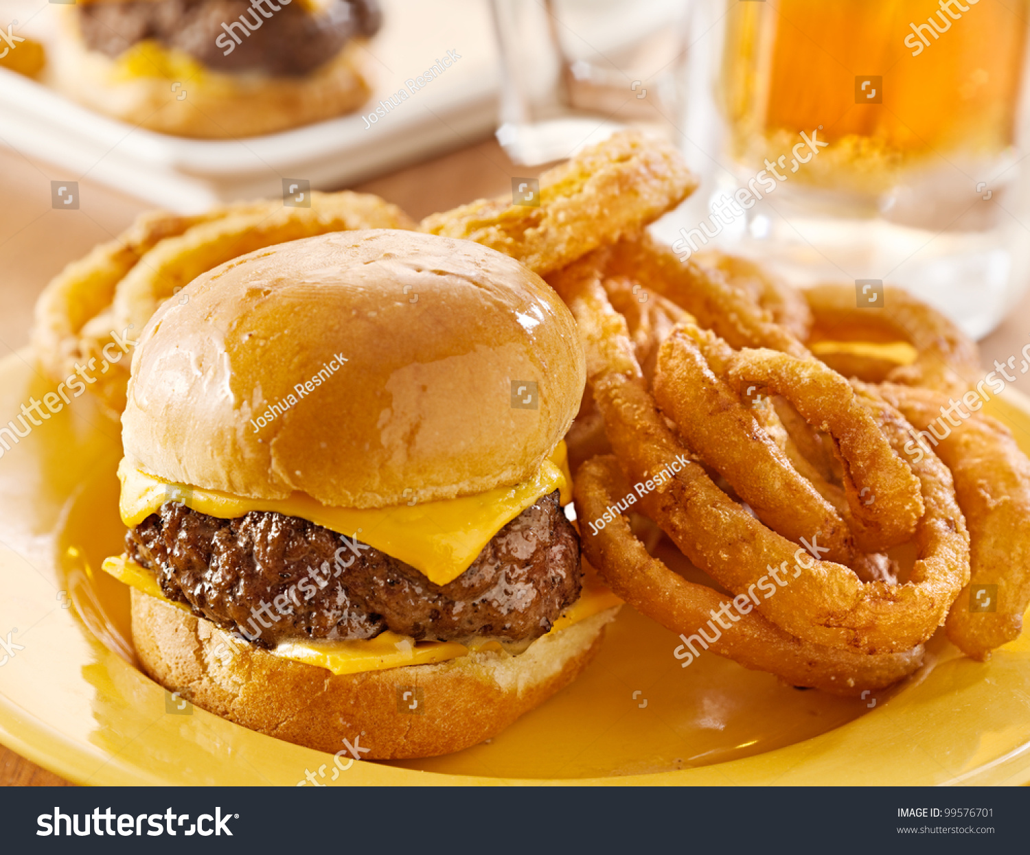 how to cut onion rings for burgers