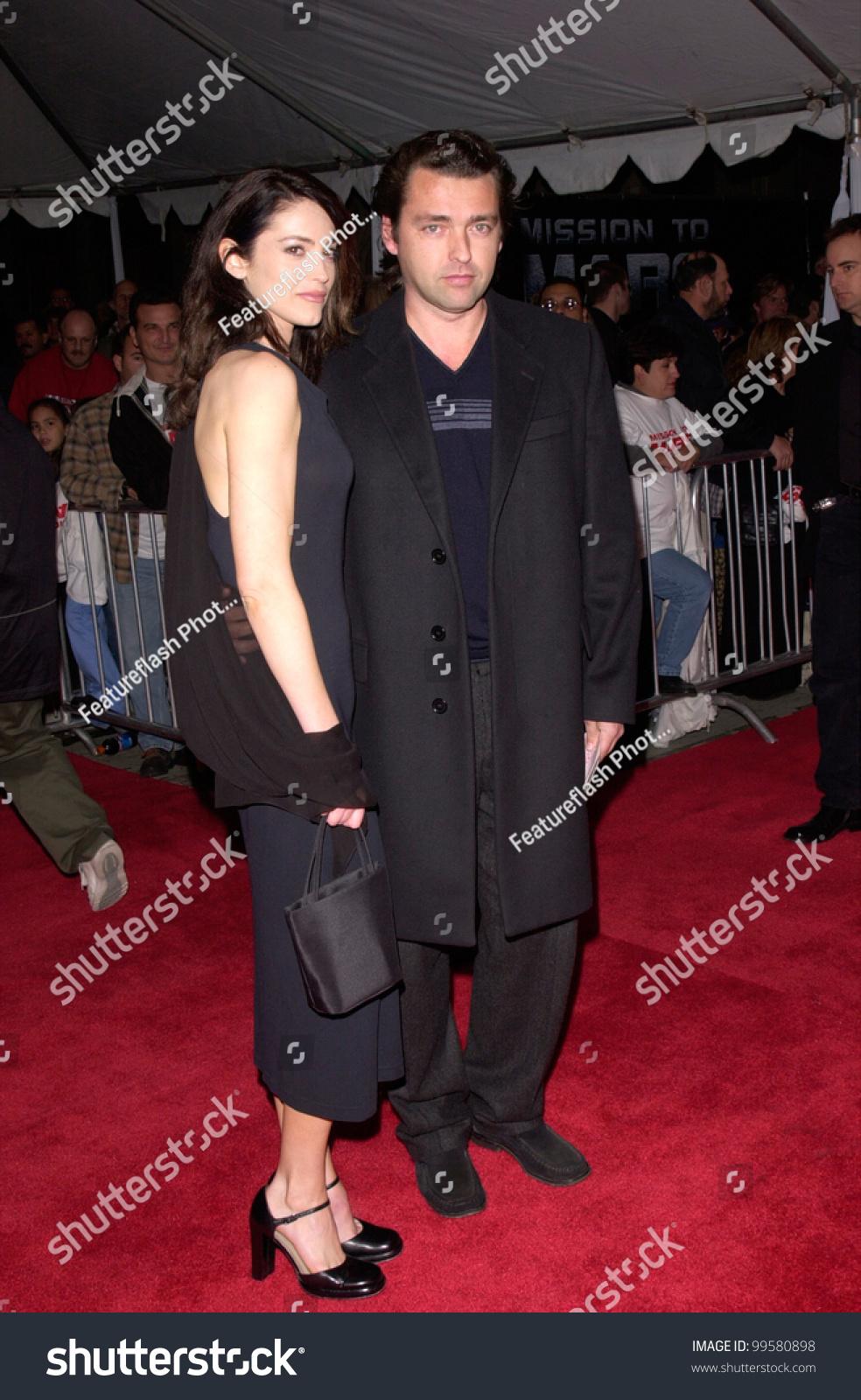 06mar2000 Actor Angus Macfadyen Actress Girlfriend Stock ...