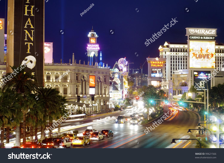 Las Vegas Usa September Neon Stock Photo Shutterstock - Length of usa in miles